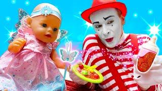 Кукла БЕБИ БОН и подарки феи Винкс! - Смешные видео для детей с игрушками. Новые игры онлайн.