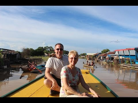 FLOATING VILLAGE on TONLE SAP LAKE, CAMBODIA - Ripper Films