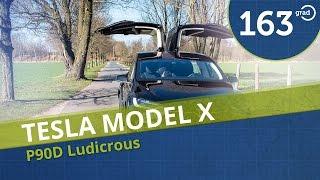 Tesla Model X P90D Ludicrous | Test | Reichweite | Aufladen | Ausstattung |  Review 4k