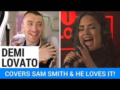 Download Youtube: Demi Lovato Covers Sam Smith + He Reacts!