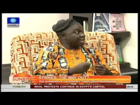 Government's Irresponsibility Is What Leads To Strike Actions-- Public Analyst pt1
