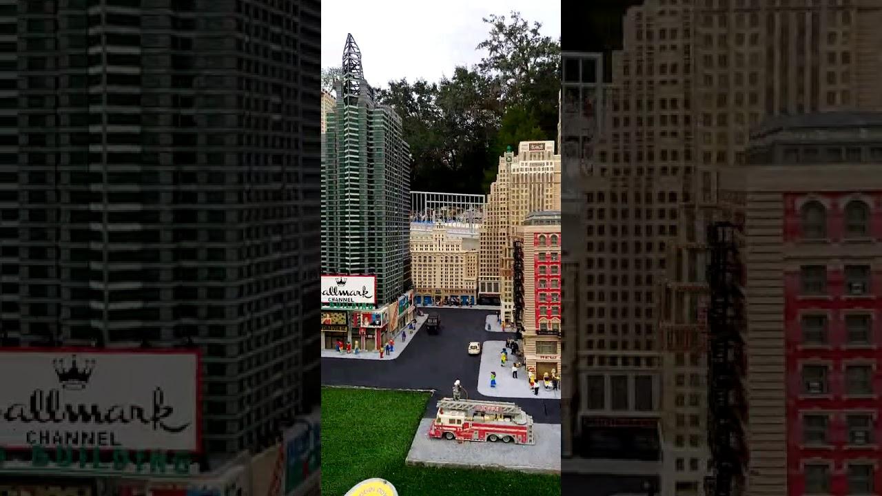 Disney legoland - YouTube