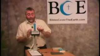 Bible Embossing Instructional Video