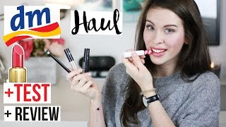 DM HAUL + TEST: Enthaarung, 2€ PINSEL, Perfekte AUGENBRAUEN | REVIEW: BEAUTY DROGERIE Produkte LIVE