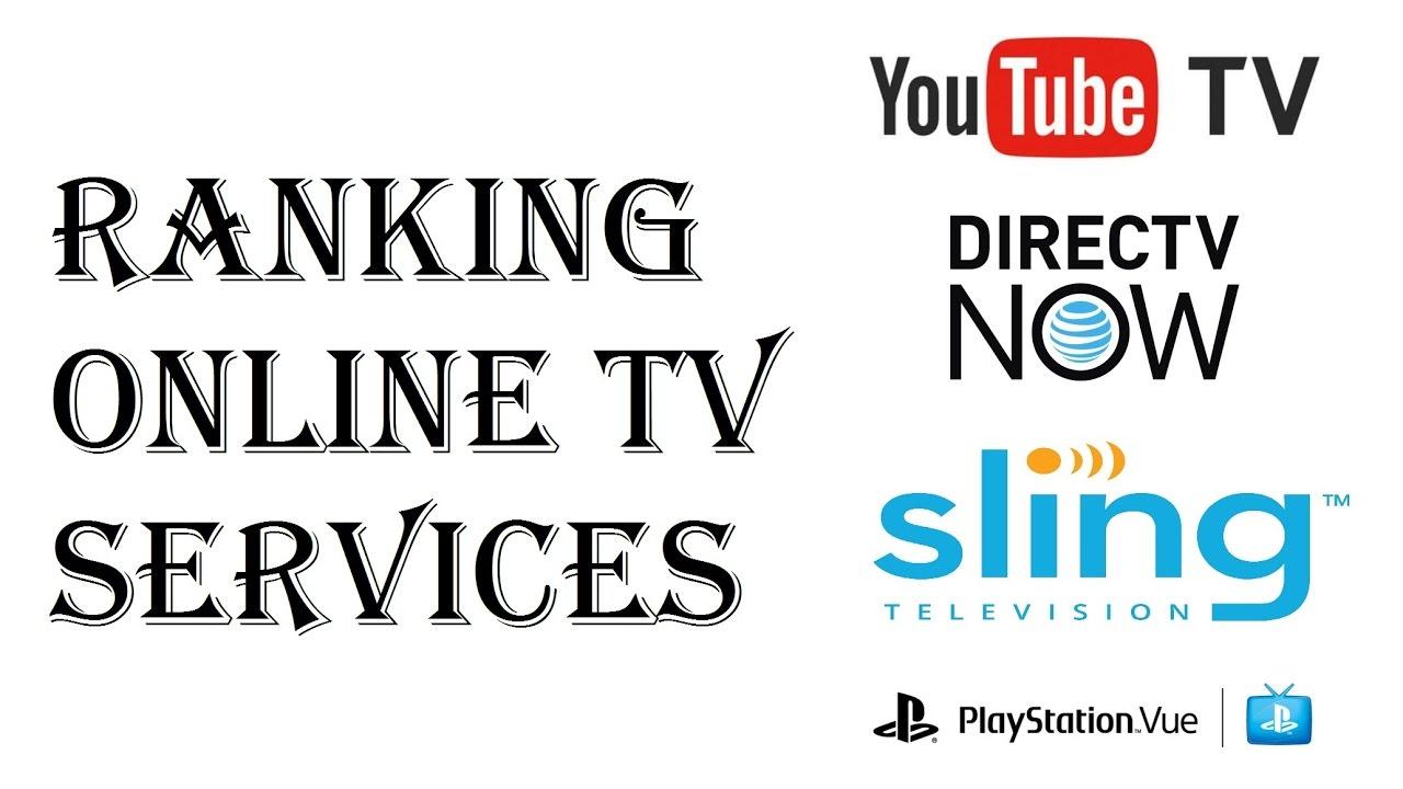 Ranking Ott Online Tv Streaming Packages Youtubetv Directv Now