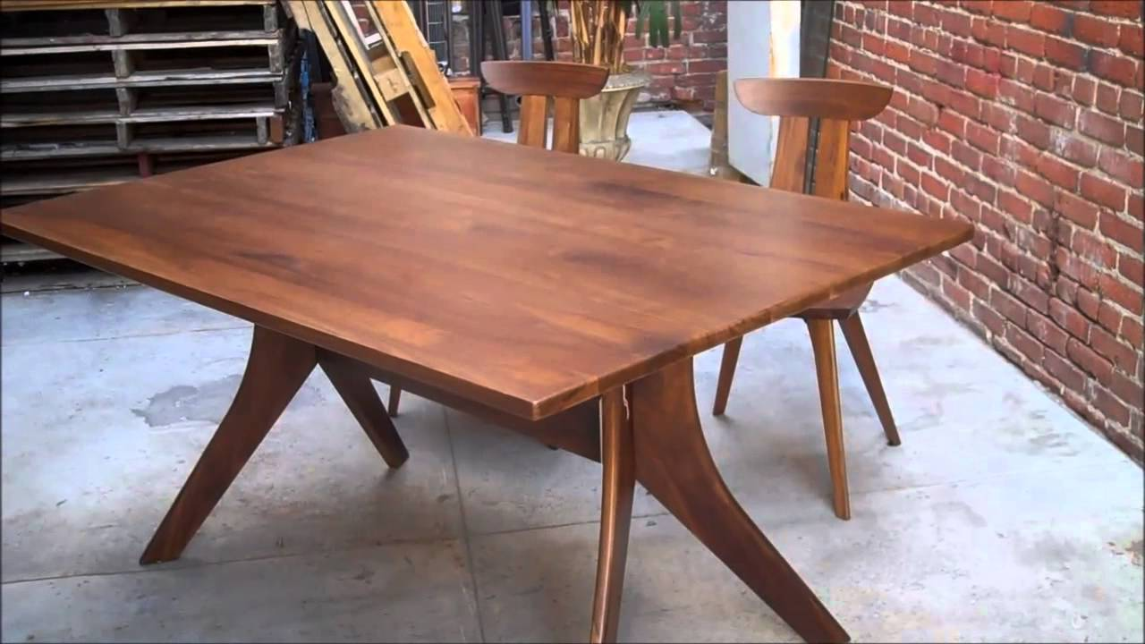 Copeland furniture audrey dining set youtube
