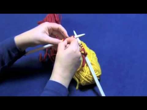 Hướng dẫn đan khăn len 2 lớp - p1
