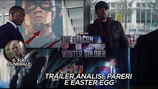 The Falcon and The Winter Soldier: ANALISI e SEGRETI del trailer con IL FUNERALE DI CAP