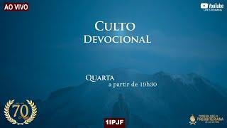 CULTO DE FORMATURA DO CURSO DE MISSÕES TRANSCULTURAIS - 21/07/2021