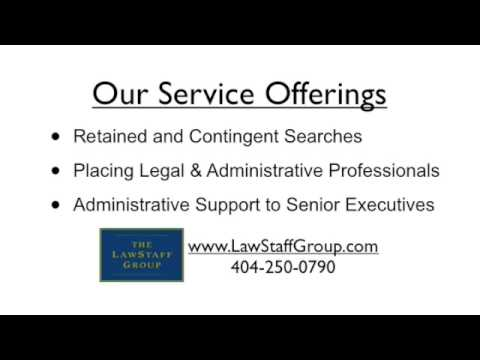 The LawStaff Group - Midtown Atlanta Legal Staffing agency Paralegal Legal Secretary