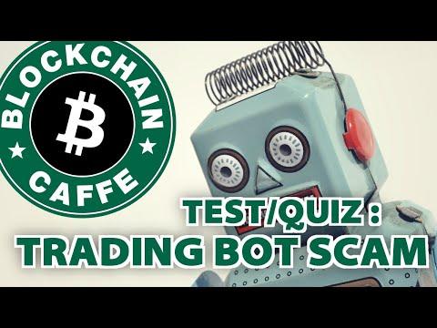 Trading Bot SCAM  |  Blockchain Caffe
