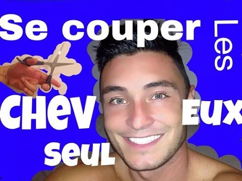 tuto comment se couper les cheveux seul coiffure coupe homme youtube. Black Bedroom Furniture Sets. Home Design Ideas
