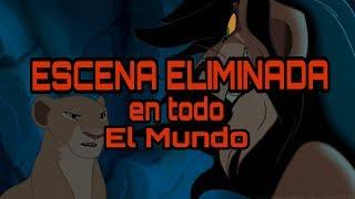 LA ESCENA ELIMINADA DEL REY LEON ! ( impactante )