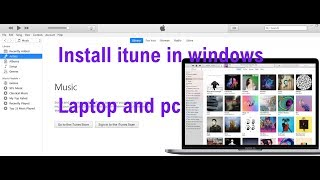 How to Download iTunes to your Computer - Windows 10  Install( free and easy) #computerrepair
