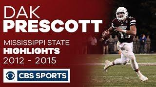 Dak Prescott: Mississippi State Highlights | CBS Sports