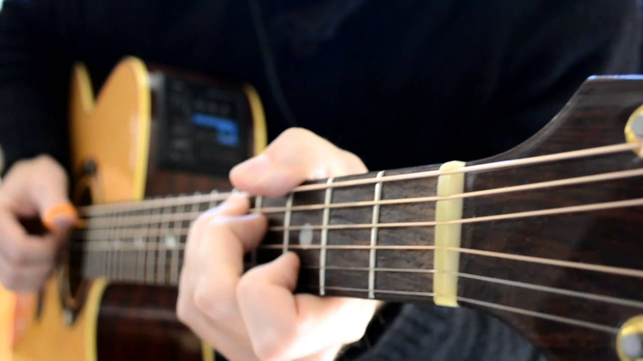 how to play blue monday on guitar
