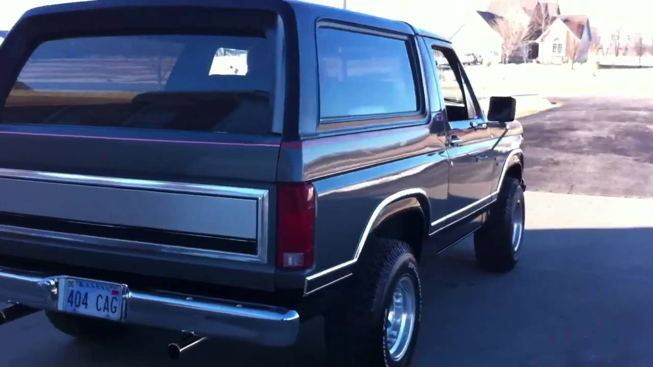 82 Ford Bronco For Sale On Ebay Youtube 1980 Blue