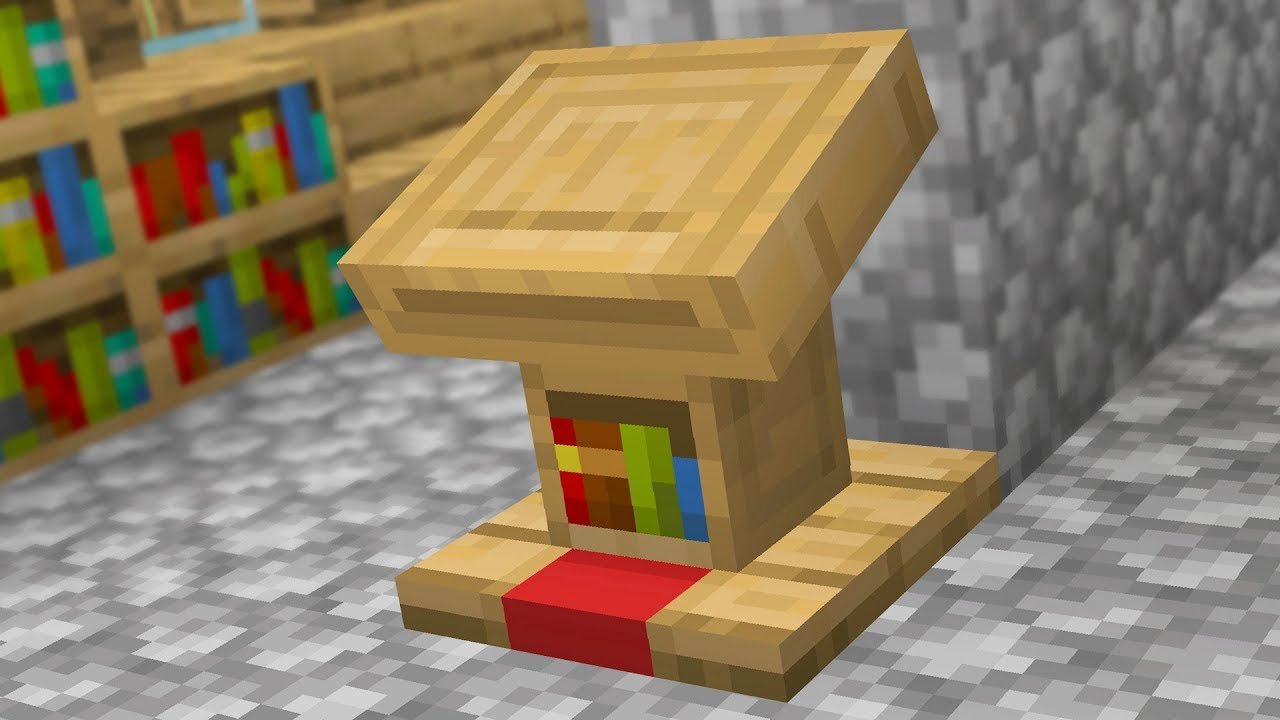 Everything About The Lectern In Minecraft Youtube