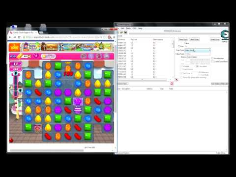 Hackear Candy Crush Con Cheat Engine 2014