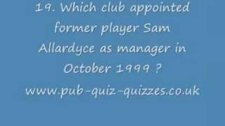 Football Quiz - FQ-30-001
