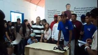 Rueda de  Prensa  de  los Frentes Universitario de Anaco