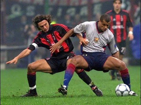 Paolo Maldini vs Rivaldo and Co; Barcelona 2000/2001