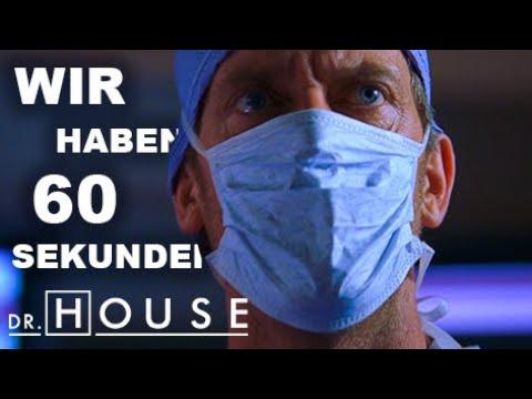 """""""Die Chance steht 1:1 Million""""   Dr. House DE"""