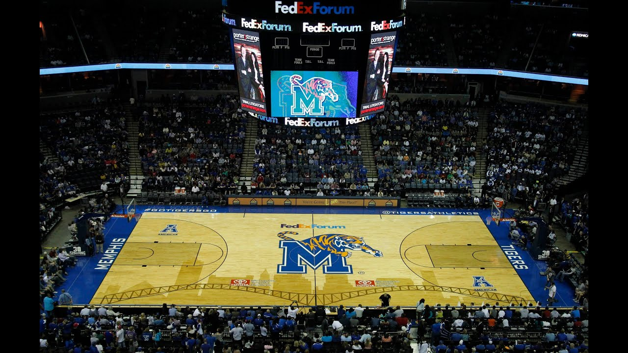 Image result for memphis tigers court