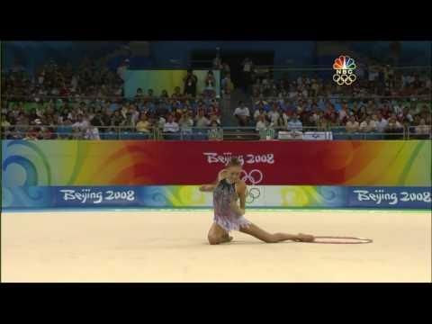 Evgenia Kanaeva Hoop 2008 Olympic AA (HD)