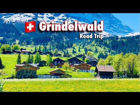 Grindelwald , Switzerland - Most Beautiful Place In Europe   swiss village , Swiss View ☘️