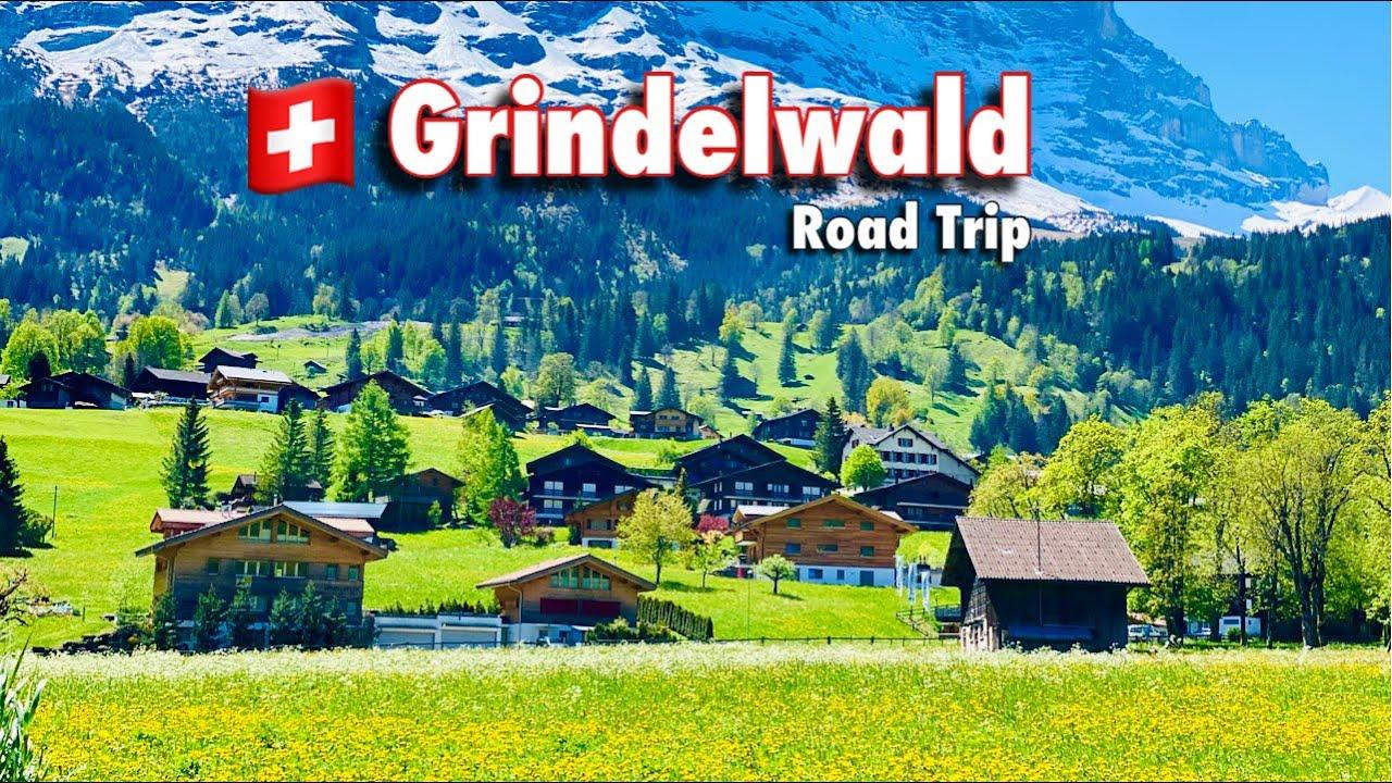Grindelwald , Switzerland - Most Beautiful Place In Europe | swiss village , Swiss View ☘️