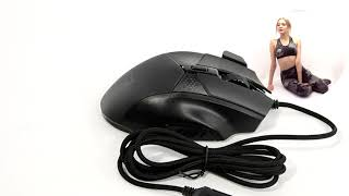 НИКС Компьютерный Супермаркет: не самое плохое видео про Проводную Мышь Harper Gaming Mouse Raven GM