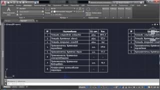 Как вставить таблицу из Excel в AutoCad