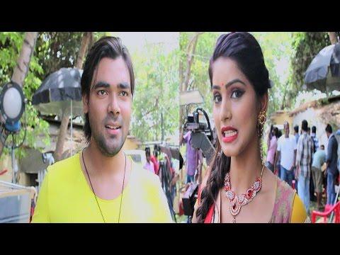 ग़दर 2 - Bhojpuri Film Gadar 2 - विशाल सिंह और माही खान Exclusive Interview On Location Shoot 2017