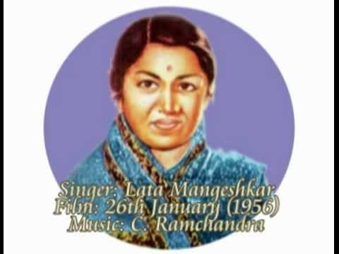 Chala Hai Pyar Ka Rahi-Lata Mangeshkar-26th January (1956).flv