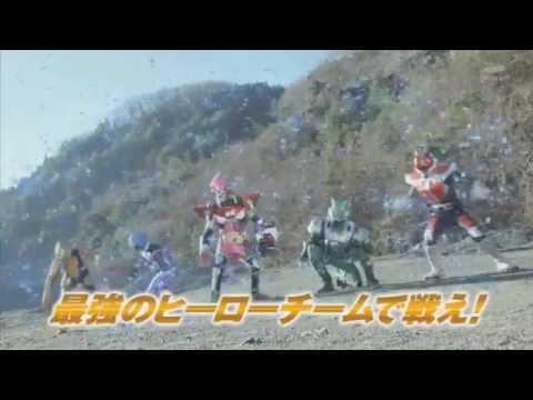 Chou Super Hero Taisen- TVCM 10 (English Subs)