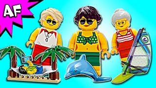 Lego City People Pack Fun at the Beach 60153 Speed Build