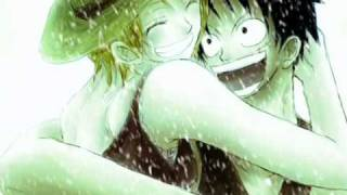 One Piece - Nami ♥ Luffy - Winter love