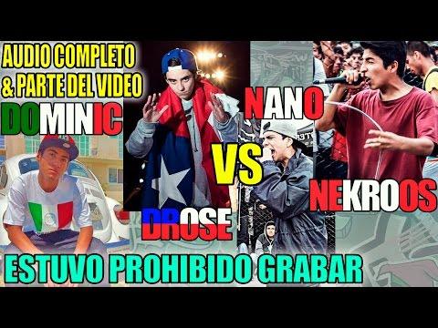 Dominic (MEX) & Drose (CHI) vs Nekroos & Nano (PER) #SupremacíaMc