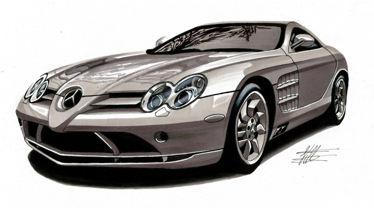 Was Ist Mb Passion Tv Mercedes Benz Slr Mclaren Zeichnen