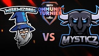 Counter-Strike: Global Offensive-Community-Turnier | Wise Wizards vs Team Mysticz | Finale