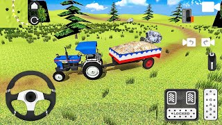 Powertrac 445 Plus 트랙터 운전-인도 트랙터 시뮬레이터 게임-Android 게임 플레이