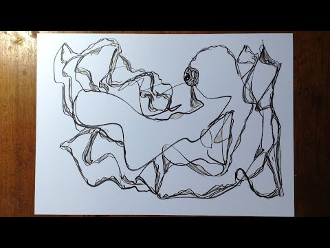 Simply Abstract Drawing