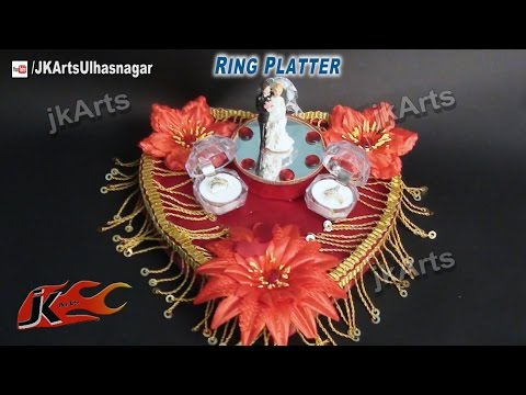 Ring Plate ~ Jewelry Packing Tray ~ Payal Bhalani from YouTube · Duration:  4 minutes 47 seconds