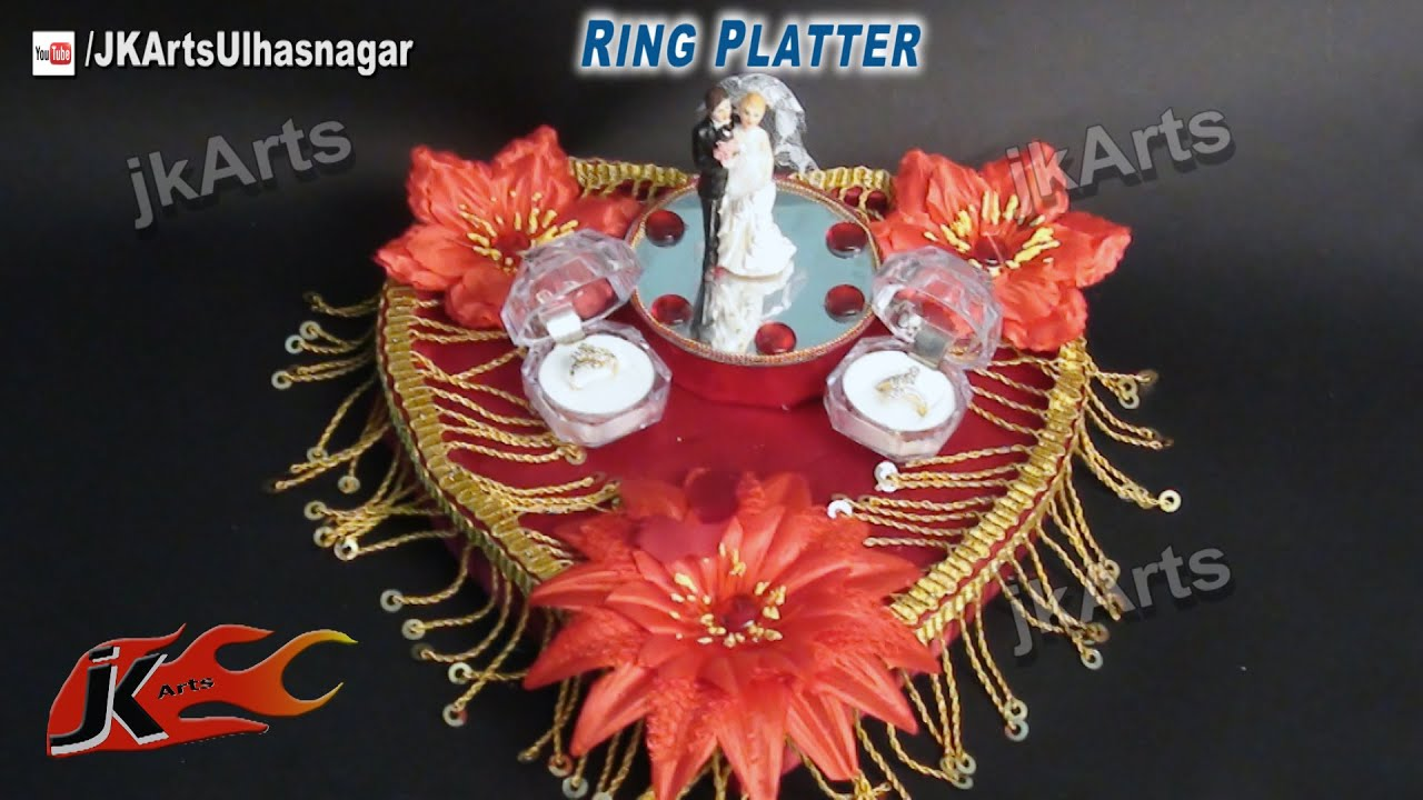 how to make wedding tray decoration