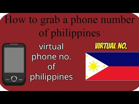 How to get a virtual phone number of Philippines