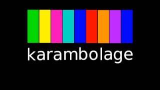La cabine de plage - Karambolage (parodie/reprise)