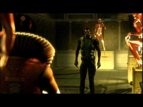 Deus Ex: Human Revolution - All Cinematics & Endings