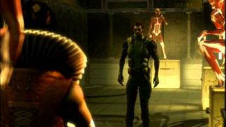 Deus Ex: Human Revolution - All Cinematics & Endings