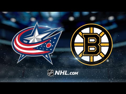Seven Bruins score in rout of Blue Jackets
